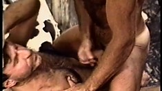 Paul Carrigan gets fucked in the ass and takes a huge load on his chest