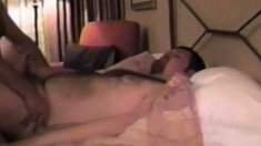 Horny couple of amateur loverboys make a sweet erotic sex tape