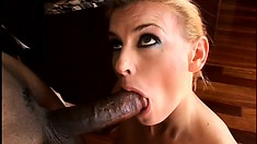 Experienced lady needs some black meat to pleasure her pussy